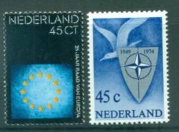 Netherlands 1974 Council Of Europe, NATO MUH Lot76746 - Periodo 1949 - 1980 (Giuliana)