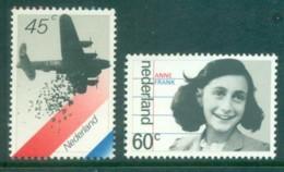 Netherlands 1980 Liberation, Anne Frank MUH Lot76790 - Periodo 1949 - 1980 (Giuliana)