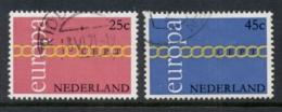 Netherlands 1971 Europa FU - Periodo 1949 - 1980 (Giuliana)