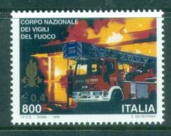 Italy 1999 Firefighting MUH - 6. 1946-.. Republic