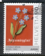 Switzerland 2003 Europa Flowers CTO - Zwitserland