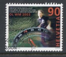 Switzerland 2003 Orienteering CTO - Switzerland