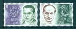 Spain 1980 Europa, Celebrities MUH Lot65770 - 1971-80 Unused Stamps