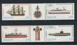 Italy 1979 Ships MUH - 6. 1946-.. Republic