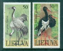 Lithuania 1991 Storks MUH - Lithuania