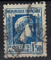 ALGERIE        N°  YVERT    214      OBLITERE       ( O   2/41 ) - Algérie (1924-1962)