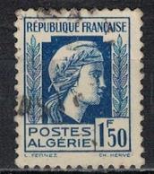 ALGERIE        N°  YVERT    214   ( 3 )    OBLITERE       ( O   2/41 ) - Algérie (1924-1962)