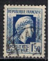 ALGERIE        N°  YVERT    214   ( 4 )    OBLITERE       ( O   2/41 ) - Algérie (1924-1962)