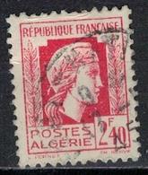ALGERIE        N°  YVERT    215   OBLITERE       ( O   2/41 ) - Algérie (1924-1962)