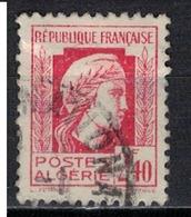 ALGERIE        N°  YVERT    215  (1)          OBLITERE       ( O   2/41 ) - Algérie (1924-1962)