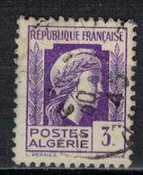 ALGERIE        N°  YVERT    216          OBLITERE       ( O   2/42 ) - Algérie (1924-1962)