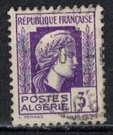 ALGERIE        N°  YVERT    216     (1)     OBLITERE       ( O   2/42 ) - Algérie (1924-1962)