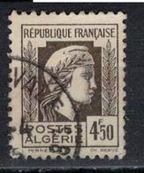 ALGERIE        N°  YVERT    217   OBLITERE       ( O   2/42 ) - Algérie (1924-1962)