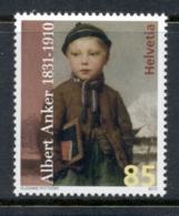 Switzerland 2010 Death Of Albert Anker MUH - Zwitserland