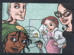 Switzerland 2003 Comic Strip Art MS CTO - Zwitserland