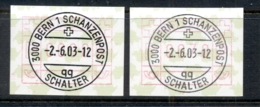 Switzerland 2003 FRAMA CTO - Switzerland
