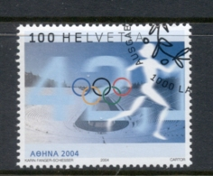 Switzerland 2004 Summer Olympics Athens CTO - Zwitserland