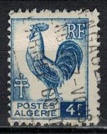 ALGERIE        N°  YVERT    222              OBLITERE       ( O   2/42 ) - Algérie (1924-1962)