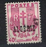ALGERIE        N°  YVERT    225             OBLITERE       ( O   2/42 ) - Algérie (1924-1962)