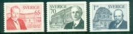 Sweden 1974 Nobel Prize Winners MUH Lot83950 - Unused Stamps