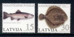 Latvia 2004 Marine Life Fish MUH - Latvia