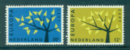 Netherlands 1962 Europa, Tree With Leaves MUH Lot65342 - Periodo 1949 - 1980 (Giuliana)