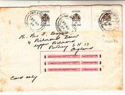 Guyana / Airmail - Guyana (1966-...)