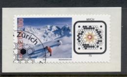 Switzerland 2007 Skiiers CTO - Zwitserland