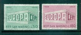 San Marino 1969 Europa, Europa Building MUH Lot65485 - San Marino