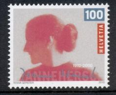 Switzerland 2010 Jeanne Hersch MUH - Zwitserland