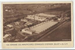 Hemiksem - Hemixem - Vue Aérienne Des Manufactures Céramiques D'Hemixem, Gilliot & Co. - Hemiksem