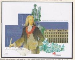 Portugal 1999 S J De Carvalha E Mela Souvenir Sheet MNH/** (LAR-M11) - 1910-... República
