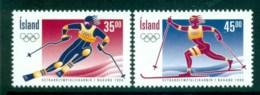 Iceland 1998 Winter Olympics Nagano MUH Lot32452 - 1944-... Republic