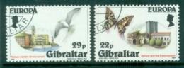 Gibraltar 1986 Europa CTO - Gibraltar