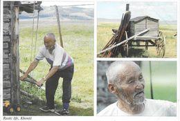 Mongolie: Images Of Mongolia - Rustic Life, Khentii, Multivues - Mongolie