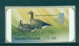 Finland 2001 Goose FRAMA MUH Lot67121 - Finlandia