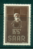 Saar 1954 Red Cross MUH Lot38515 - 1947-56 Protectorate