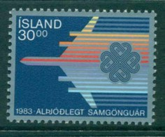 Iceland 1983 World Communications Year MUH Lor32619 - 1944-... Republic