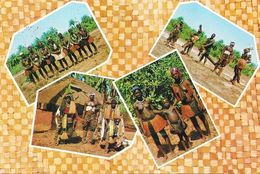 Guiné Portuguesa (Guinée-Bissau) - Multivues 1968 - Caracteristico Dos Bijagos: Guerreiros Dançarinos, Campunes... - Afrique