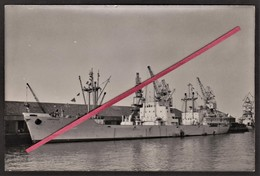 """56 LORIENT -- Photo Originale _ Cargo """"Cambraisien"""" _ Marine Marchande _ Société Navale De L'Ouest _ Bateau _ Navire - Bateaux"""