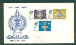 Malta 1961 George Cross FDC Lot50459 - Malta