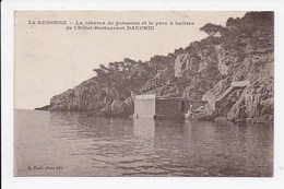 CPA 13 LA REDONNE La Reserve De Poissons Et Le Parc à Huitres De L'hotel Restaurant Dauphin - Autres Communes