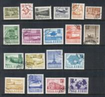 Romania 1967-67 Transport & Communications (19/22, No 40, 55, 60b, 1.6l) CTO - 1948-.... Republics