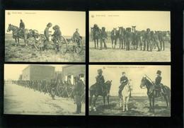 Beau Lot De 20 Cartes Postales De L' Armée Belge Soldats Soldat  Mooi Lot Van 20 Postkaarten Leger Soldaten Soldaat - Ansichtskarten