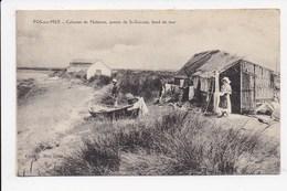 CPA 13 FOS SUR MER Cabanes De Pêcheurs Pointe De St Gervais Bord De Mer - France