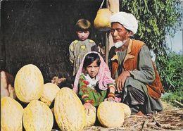 Afghanistan - Marché Kunduz: Old Melon Vendor (vieux Marchand De Melons) - Photo Wakili - Asie