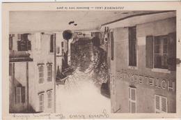 AIN - JUJURIEUX - Descente Vers La Gare  ( - Vue Sur L'HOTEL BERNARD - écrite En 1941 ) - Autres Communes