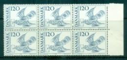 Denmark 1974 Centenary Of UPU 120o Blk 6 MUH Lot76399 - Denmark