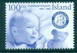 Iceland 2004 Hringurin Women's Society MUH Lot32541 - 1944-... Republic