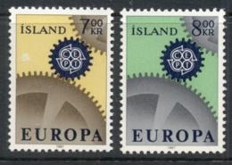 Iceland 1967 Europa MUH - 1944-... Republic